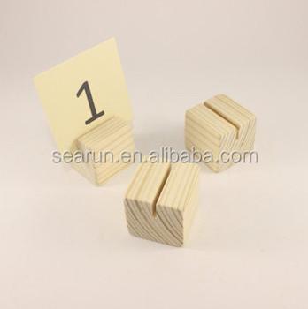 Restaurant wood table number holder business card name card holder restaurant wood table number holder business card name card holder reheart Gallery