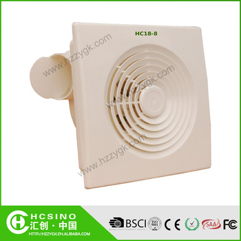 Wall mounted low power consumption bathroom kitchen for Bathroom fan power consumption