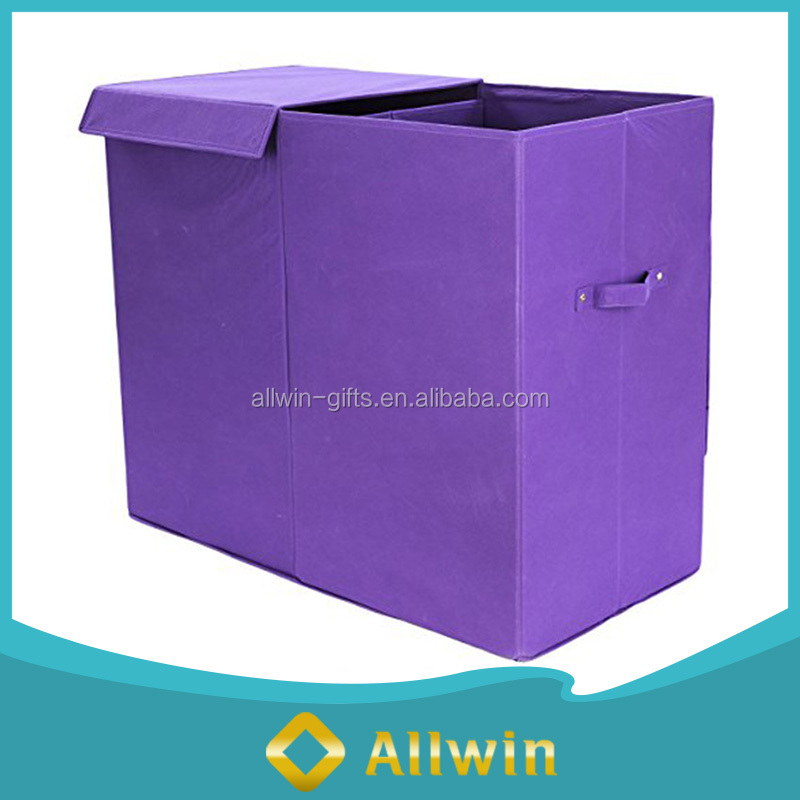 Foldable Polyester Laundry bags Laundry Hamper With Handle