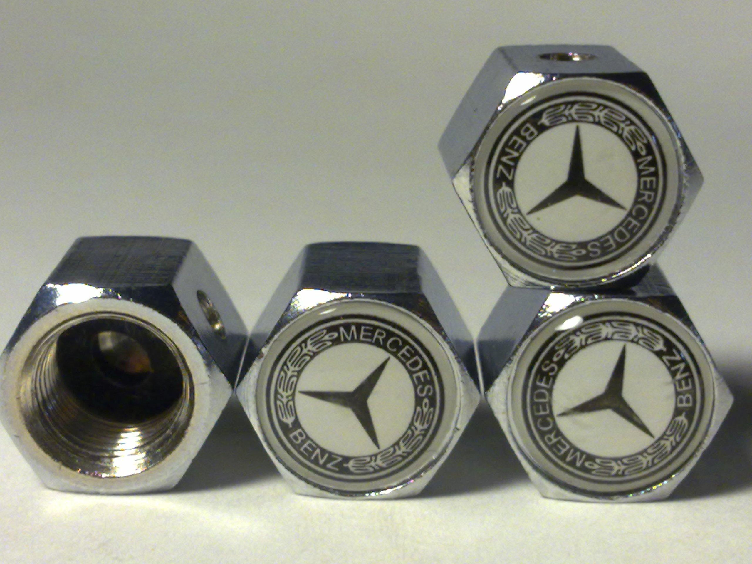 4pcs Carbon Fiber Metal Wheel Tires Air Valve Stems Caps Auto Car Accessories Continental Designed Ford