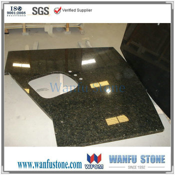 sink hole pre cut granite countertop,prefabricated granite