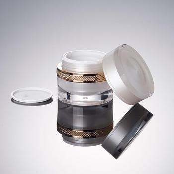 High Quality luxury cream JAR Acrylic Lotion Bottle cosmetic jar For Cosmetic Packaging