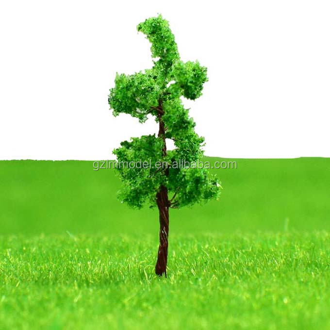 3.2cm Top selling green pagoda tree for architectural model tree/for Train Layout,G3210