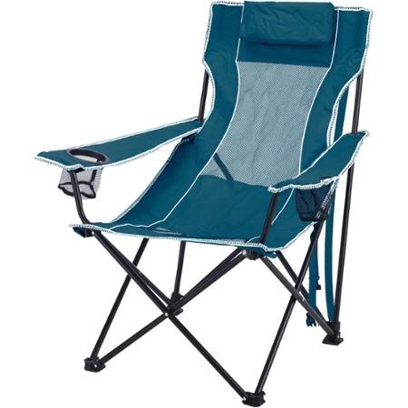 Ozark Trail Steel Frame Oversized Mesh Lounge Chair Teal