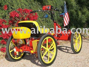 Googlycar Pedal Electric Hybrid Micro Car View 4 Wheel Bike