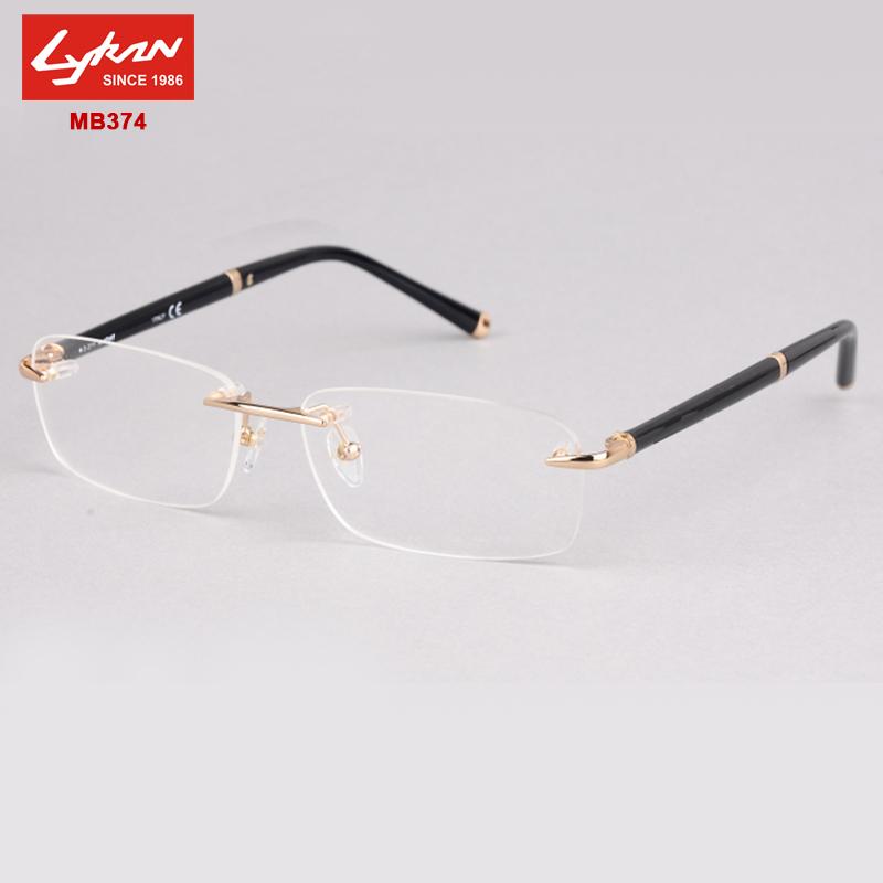 28b28273e087 Designer Rimless Glasses. Jun20. Elderly friends. How To Replace Lenses In  Rimless Glasses