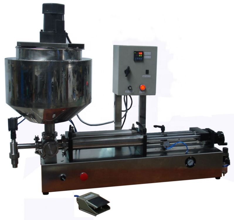 High Quality Viscous Liquid And Ointment High Quality But Low Price Vertical Heating&Mixing&Filling Machine