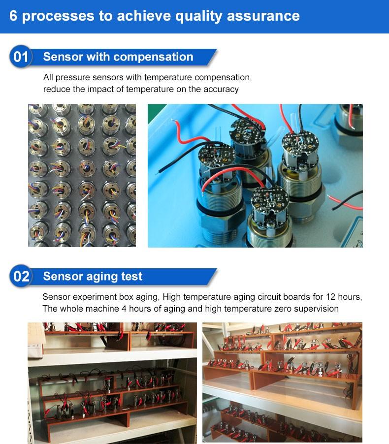 pressure sensor, pressure transmitter