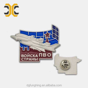 High quality metal custom enamel lapel pin
