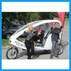 Three Wheeler Passengers Battery Powered Cyclo Taxi Tricycle