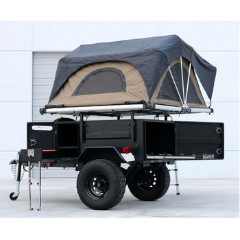 Ecocampor 4wd Overland Small Lightweight Offroad Rv Travel Caravan Trailer  With Pop Up Tent Under 20 Feet For Sale - Buy Lightweight Rv,Travel Trailer