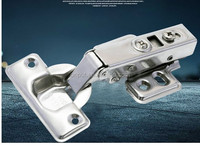 High quality stainless steel soft-closing hydraulic furniture cabinet hinge