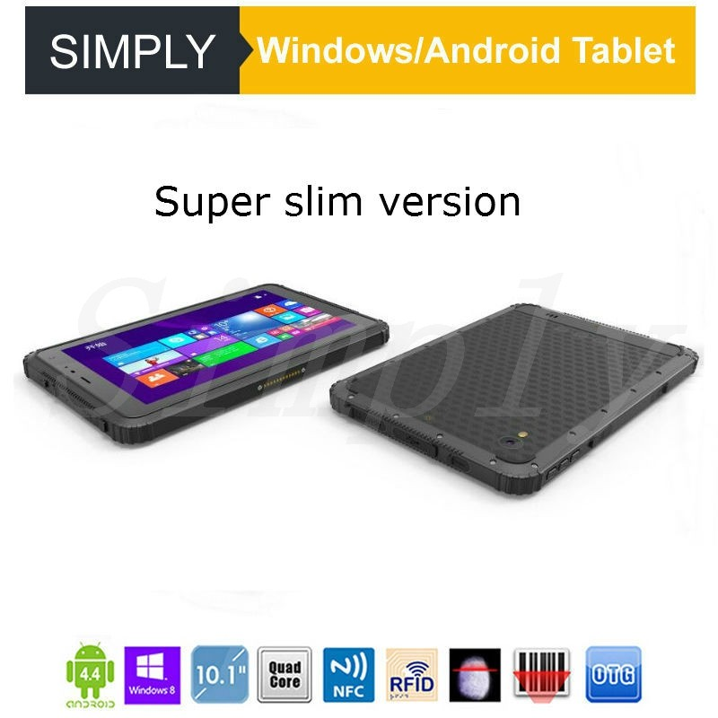 Simply Ip 67 waterproof 3G 4G Lte Windows10 4Gb Ram 64Gb Rom Rugged Tablet Android