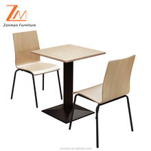 Philippine Dining Table Set Modern Wooden Furniture for Restaurant