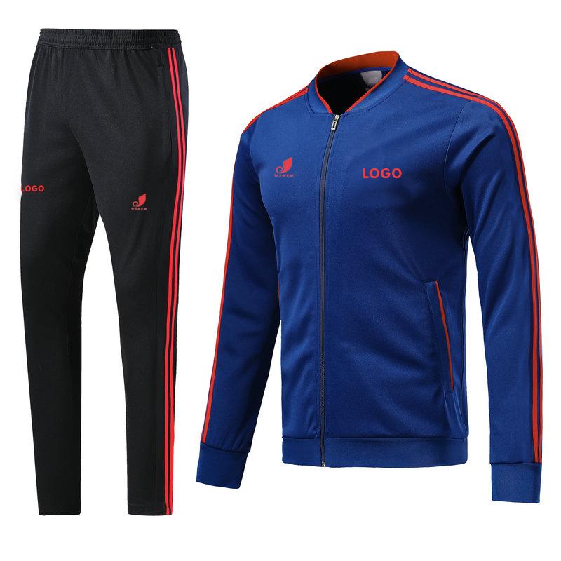 OEM custom design your own sports jogging men tracksuit фото