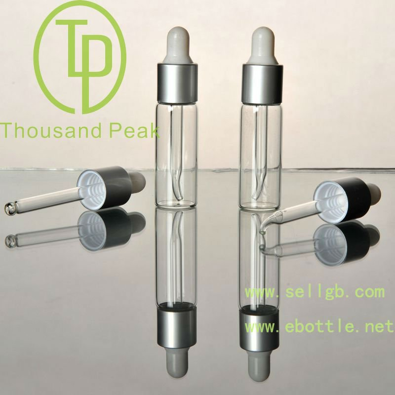 TP-2-09-4 essential oil bottles, 5ml clear cosmetic packaging glass bottles
