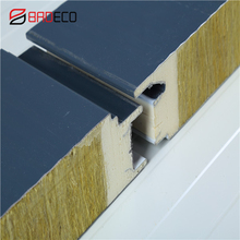Heat insulation sips kingspan rock wool sandwich panel