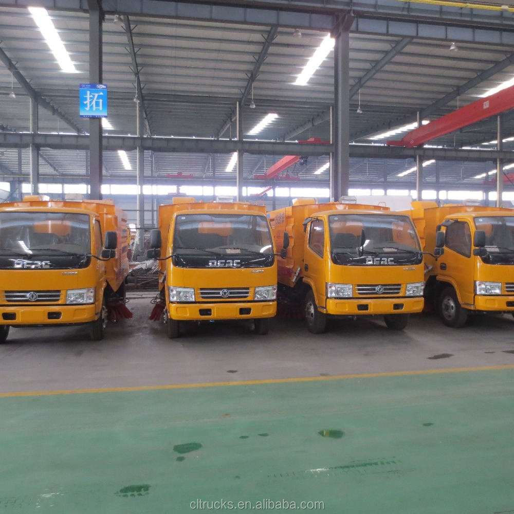 DongFeng 4 * 2 small road municipal sanitation clean sweep the truck