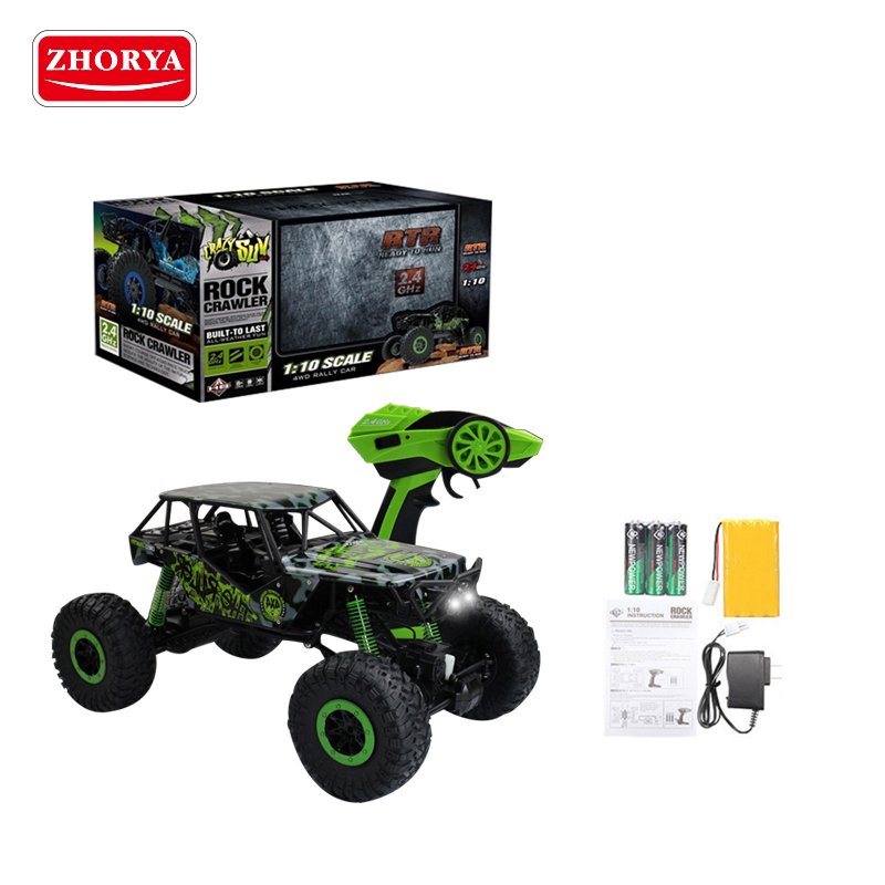 Zhorya 2.4G rc toy drift car waterproof plastic climbing RC truck