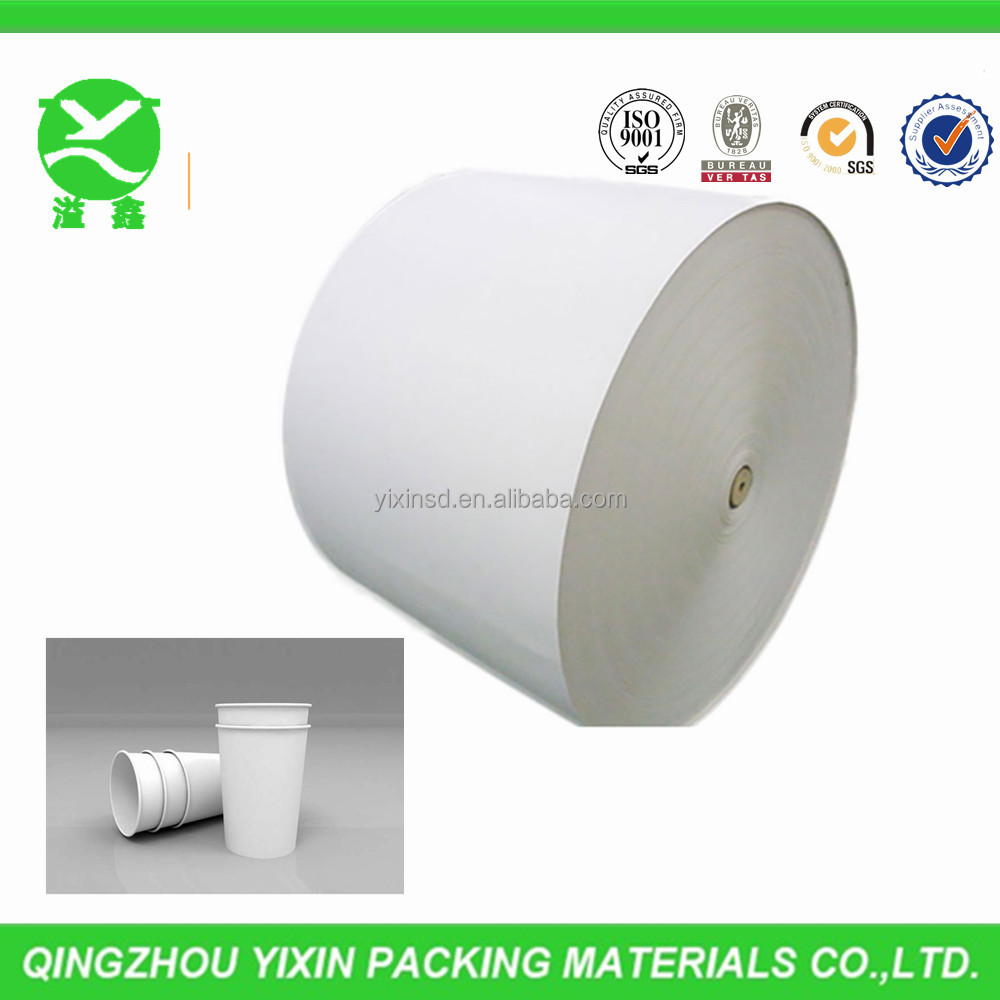 uncoated woodfree virgin paper in roll for making paper cup