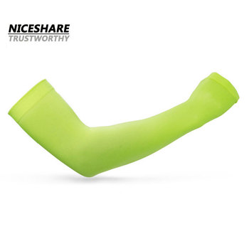 fashion custom outdoor UV protection cool seamless arm sleeves