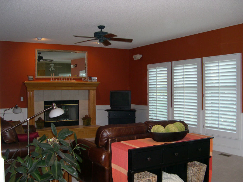 Interior Wood Window Shutters