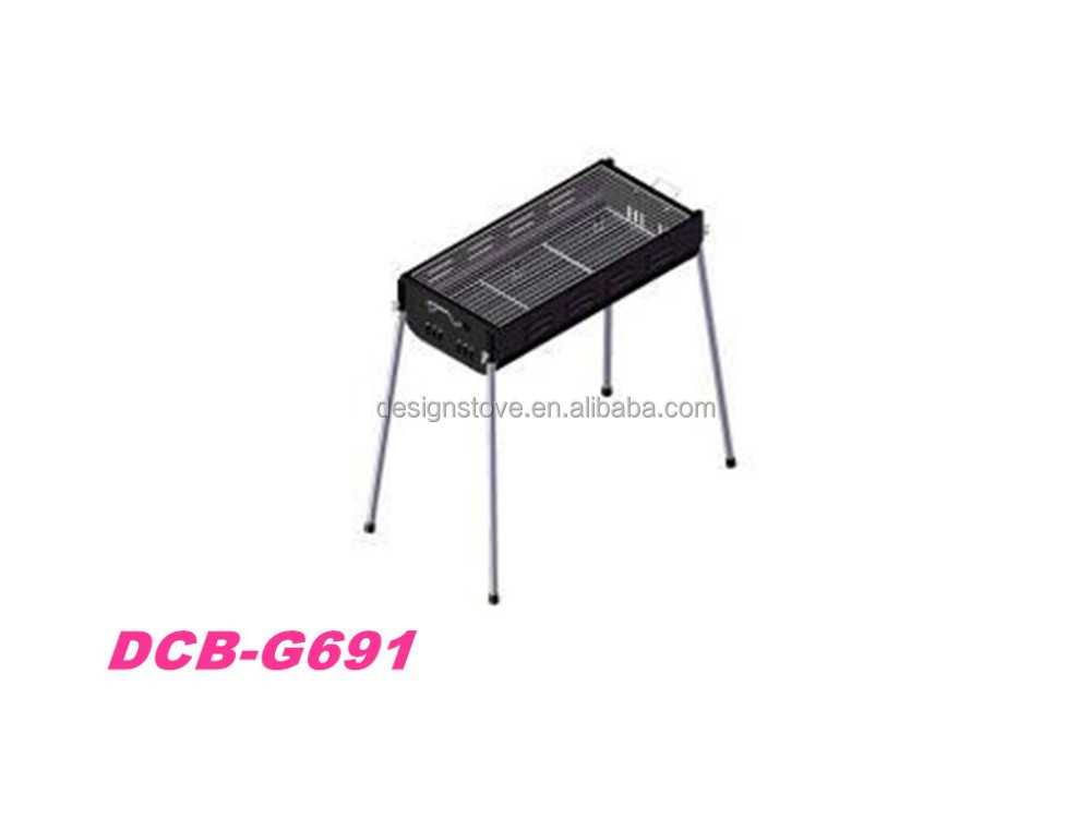 hot sale charcoal steel bbq oven grill