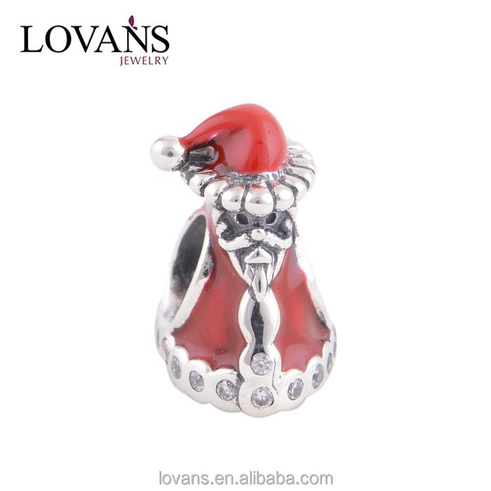 Buying Online In China 925 Silver Christmas Novelty Products Jewelry Trendy Christmas Gifts Santa Charm YZ576