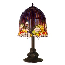 Wholesale New model tiffany style lotus table lamps bedroom table ...