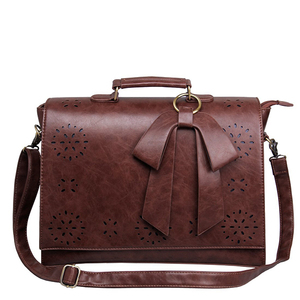 Leather Briefcase Shoulder Laptop Messenger Bags Womens Messenger Bag
