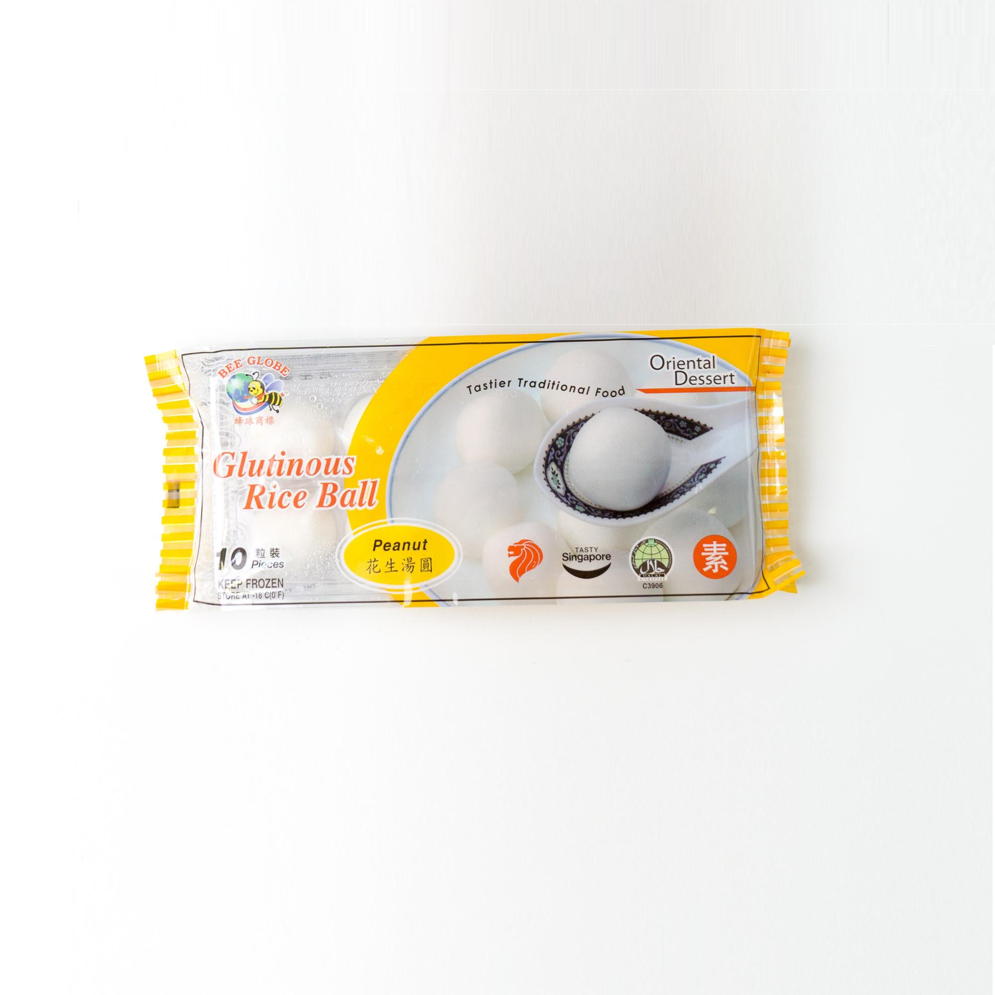 Singapore Food Suppliers Glutinous Rice Ball Peanut flavor
