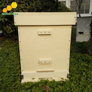 PVC Material Plastic Beehives Lanstroth 10frames Plastic Bee Hives Price