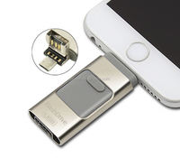 [Somostel] Alibaba wholesale OTG HD u disk USB flash drive,iFlash drive u disk for iPhone PC 8G/16G/32G64G