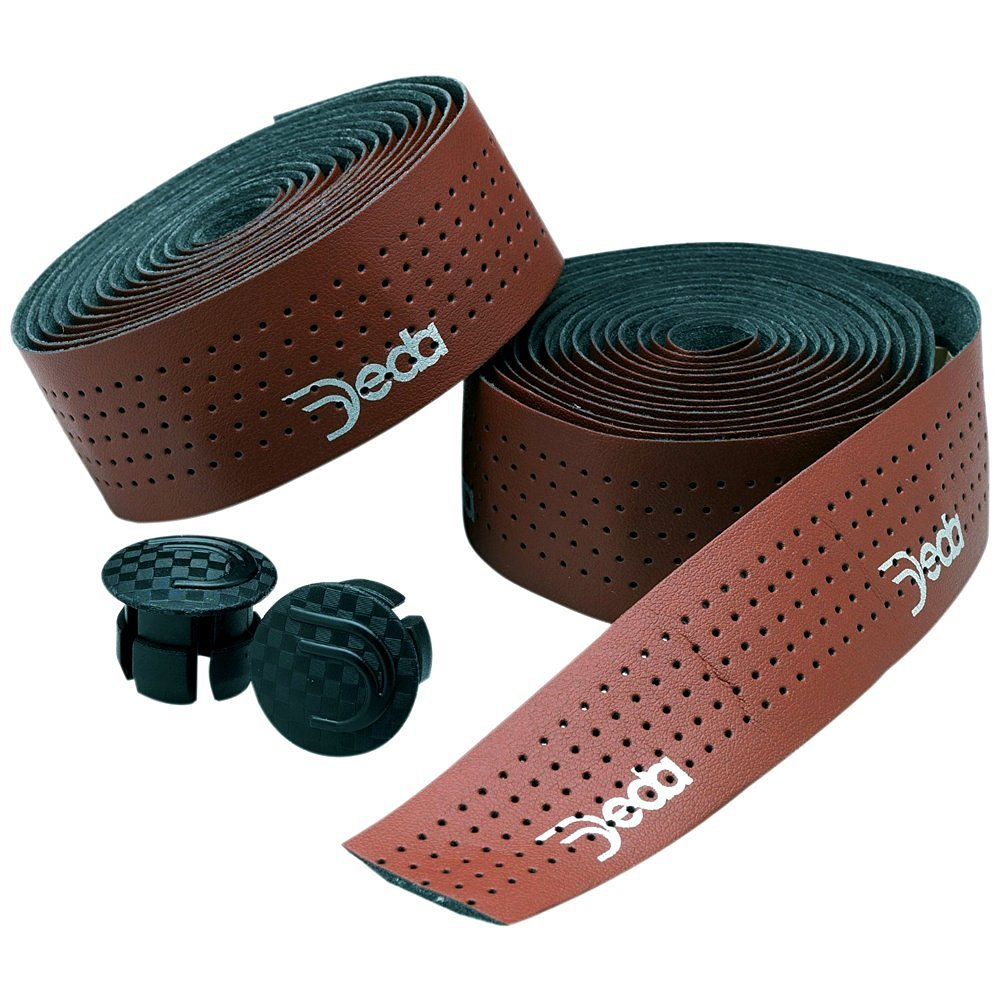 2X Cycling Road Bike Sports Handlebar Tape Luxury Faux Leather Bar Tapes 2Colors