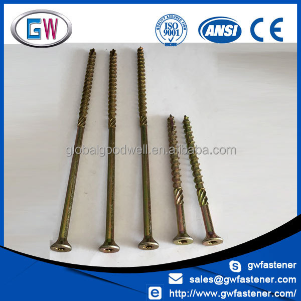 Customized 6mm 8mm double countersunk extra long screw star