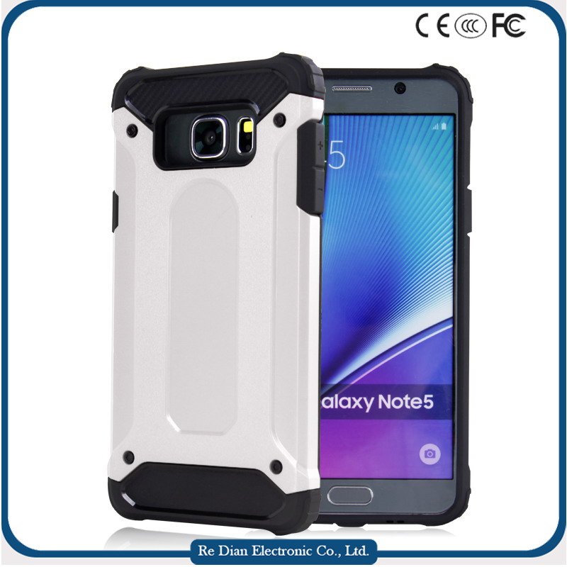 2016 wholesale air cushion 0.3mm raised armor strong case factory popular good sale case cell phone case for samsung note5