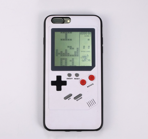 Jary Tetris Game Phone <strong>Case</strong> Gameboy Cover CE, ROHS certifications Certificate Game phone <strong>case</strong>