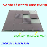 All steel access floor for office building