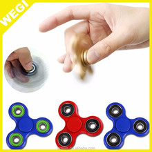 Low price New Fidget Spinner EDC Hand Spinner Toys with high well quality plastic game spinners