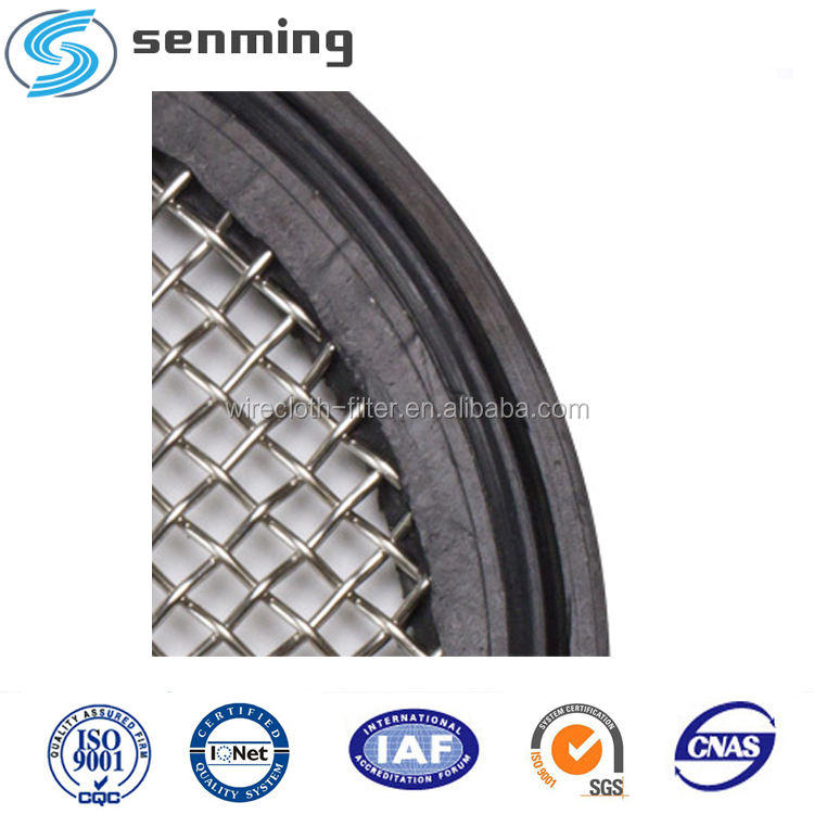 2 60 Mesh PTFE Sanitary Tri-clamp Screen Gasket Pharmaceutical Grade Mesh Gasket