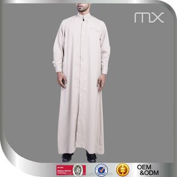 2018 Latest Kurta Designs For Men High Grade Daffah Thobe Jubah