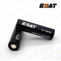 EBAT 18650 high drian flat top 18650 42A 3000mah rechargeable 18650 battery 3000mah cell