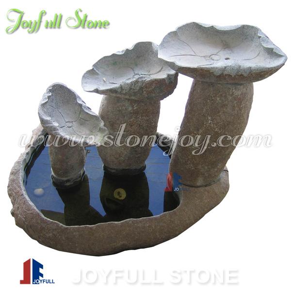 Piedra natural jard n fuentes de agua boulder piedra - Fuentes de piedra natural ...
