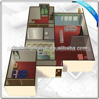 High quality low cost noble prefab home kits for sale for Low cost house kits