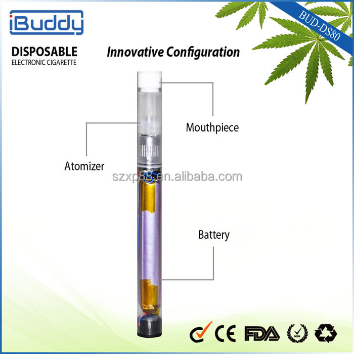 2015 new innovative mini disposable e cigarette with bud-base tank patent