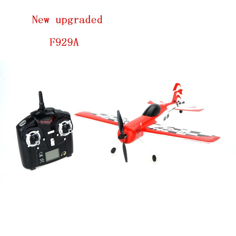 New Upgraded   Wltoys F929A 2.4G 4CH RC Airplane Remote Control Plane Outdoor