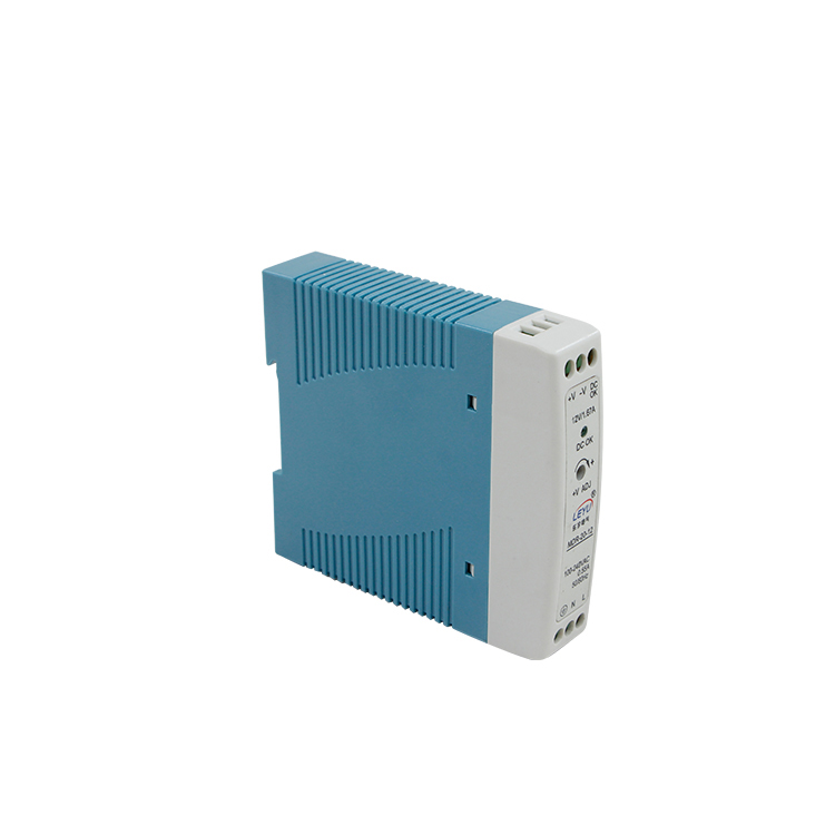 พลาสติกกรณี Mdr-20-5 SMPS AC/DC 20 W 5 V DIN Rail Power Supply