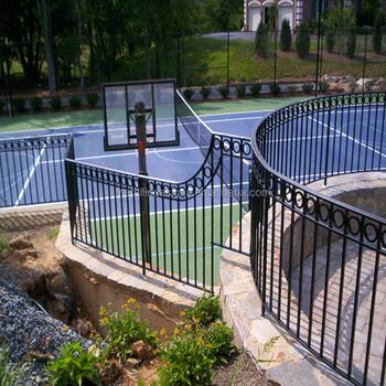 Ornamental Aluminum Fence Finials Modern Decorative Metal Finials Gate  Fencing