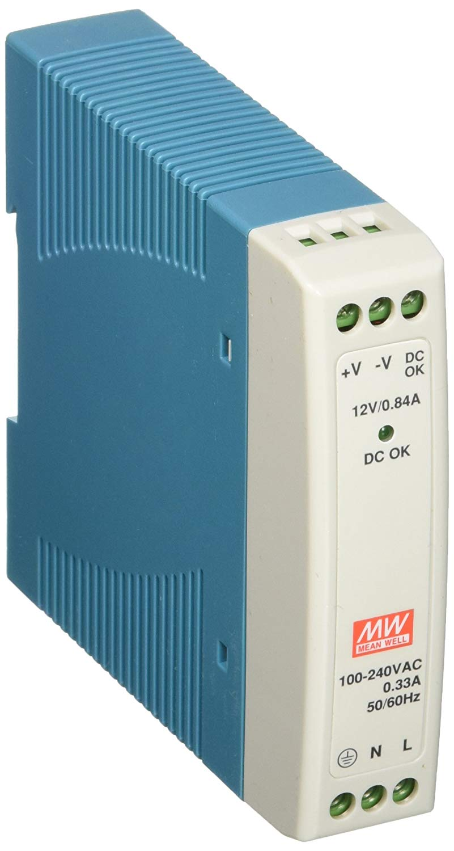 4A 85-264VAC//120-370VDC I//p Single Phase 3 Year Warranty 100W DIN Rail Power Supply 24vDC o//p