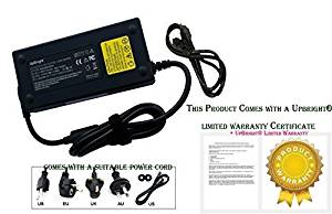 UpBright NEW Global AC / DC Adapter For iBuyPower Valkyrie CZ-17 CZ-27 iBuy Power Gaming Notebook PC Laptop Power Supply Cord Cable PS Battery Charger Mains PSU